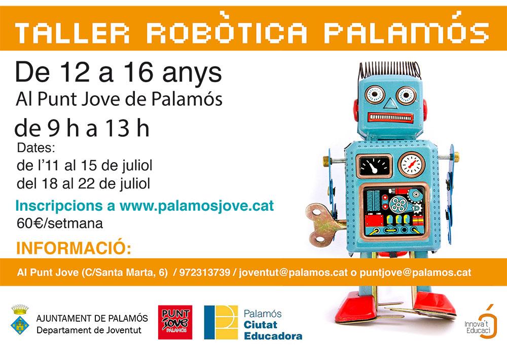 Poster A3_Taller Robòtica Palamós copia
